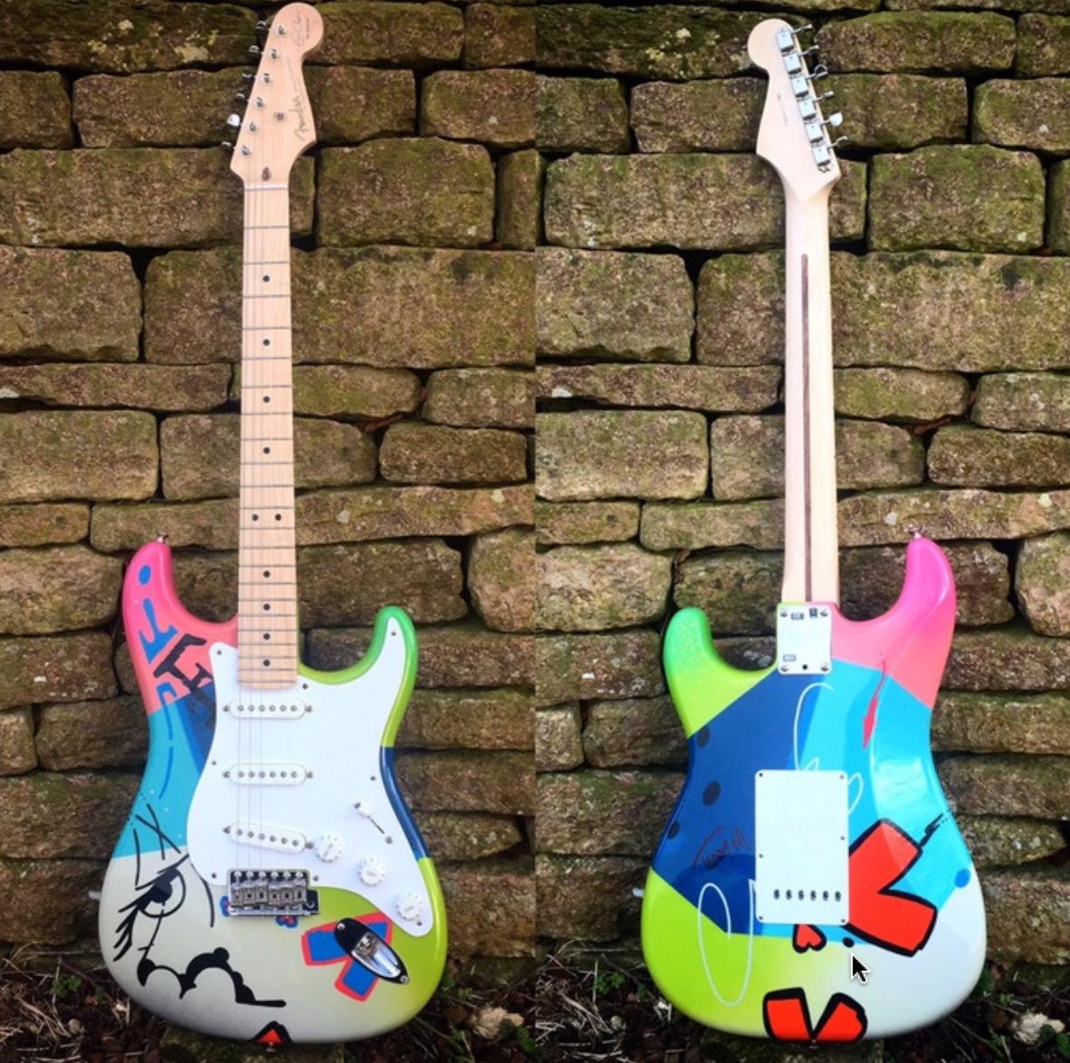 Sheerans guitar