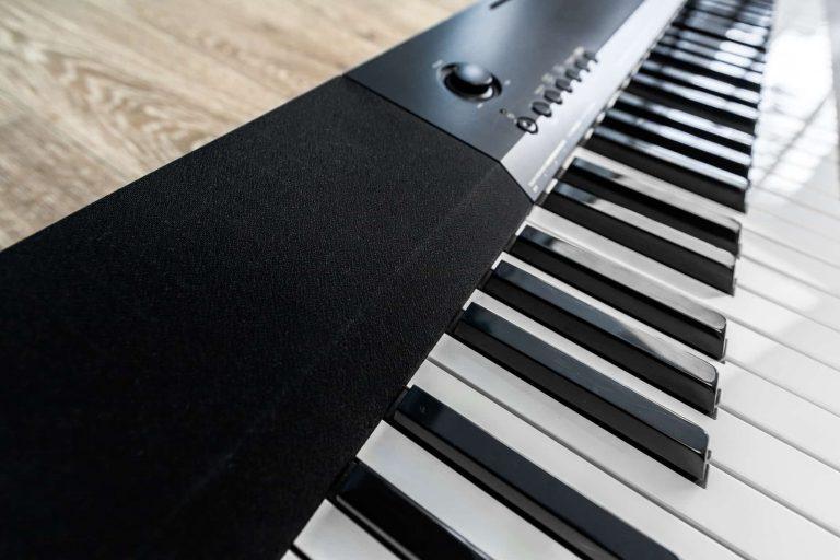 Close Up of Piano Keyboard