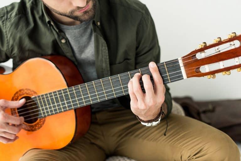 different acoustic guitar parts