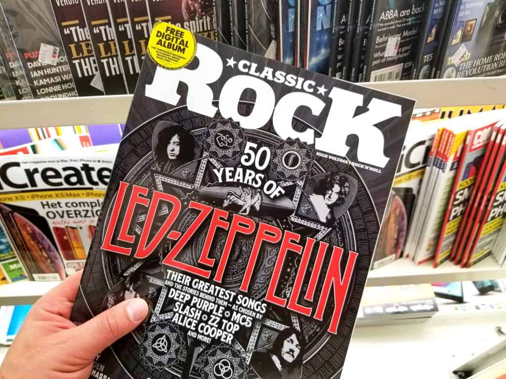 Led Zeppelin on the cover of Classic Rock