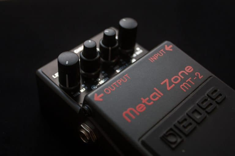 Metal Pedal for guitar