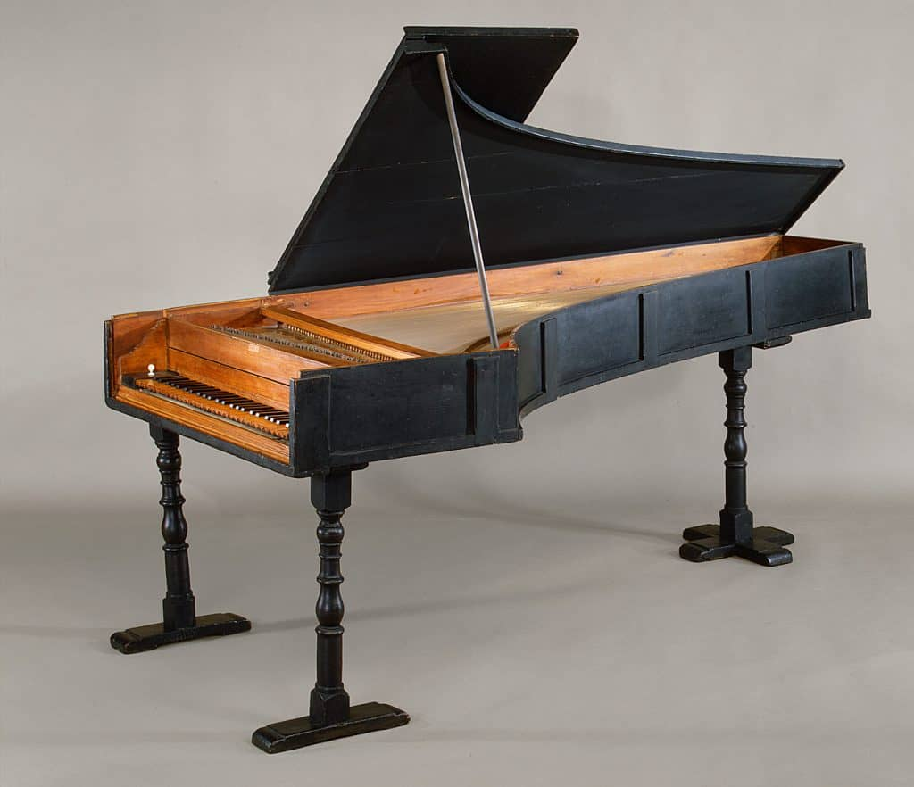 Piano made by Bartolomeo Cristofori