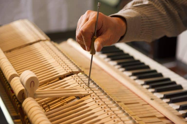 Piano Tuning Work
